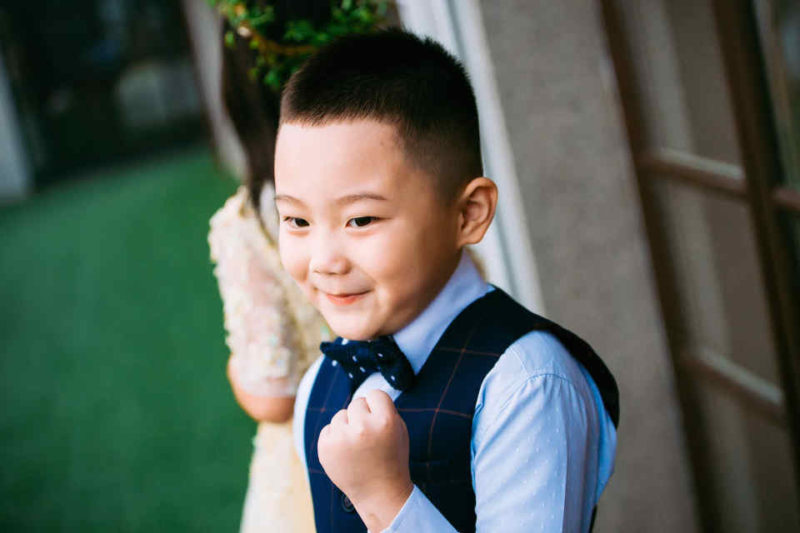 It is important that when you do make exceptions for certain guests to bring their children © Wu Yi