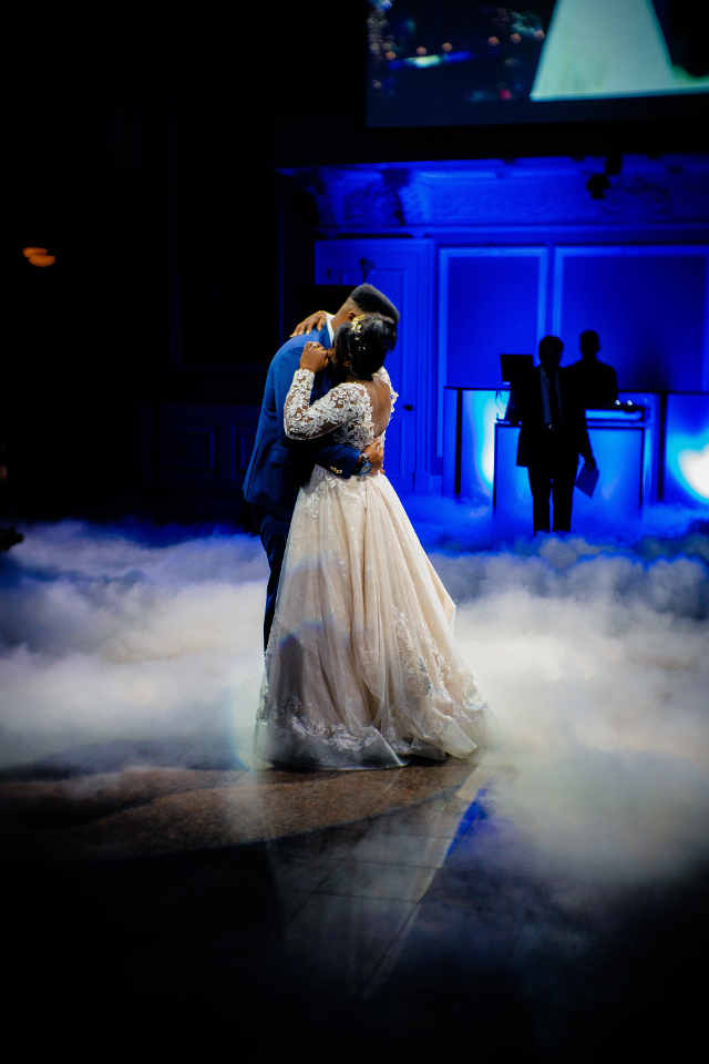 During the first dance, the eyes of all guests are focused on the bride and groom. It is really worth taking dance lessons to excel in that first dance perfectly