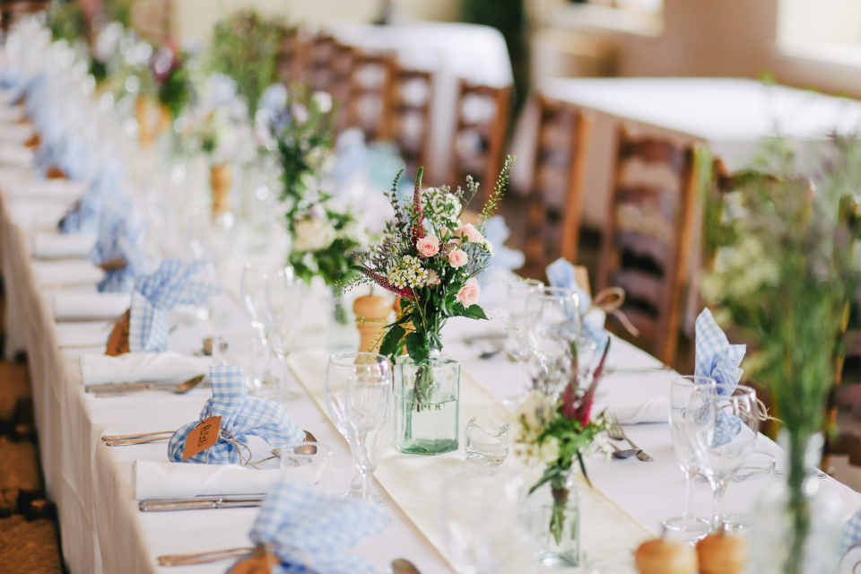 The total cost of your wedding will largely depend on where it is going to take place.