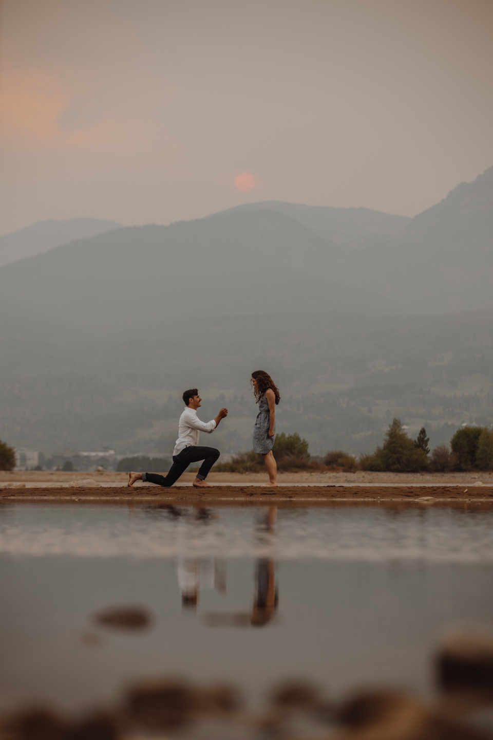 People propose to each other most often within a year or two of meeting each other, but there is generally no rule for that