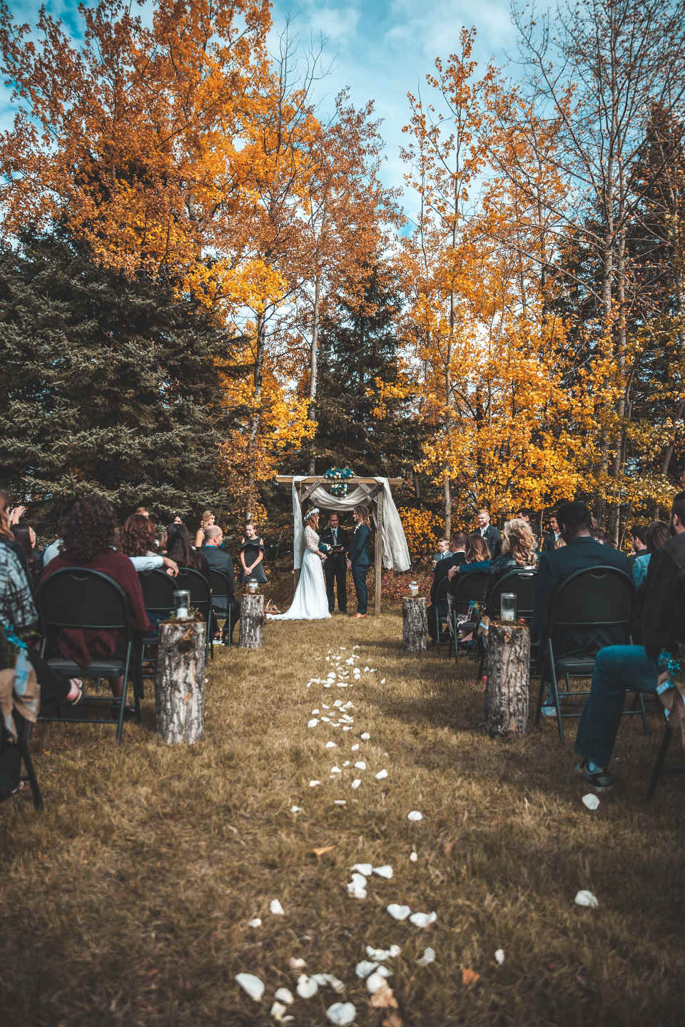 The average length of the wedding ceremony is about 20-30 minutes