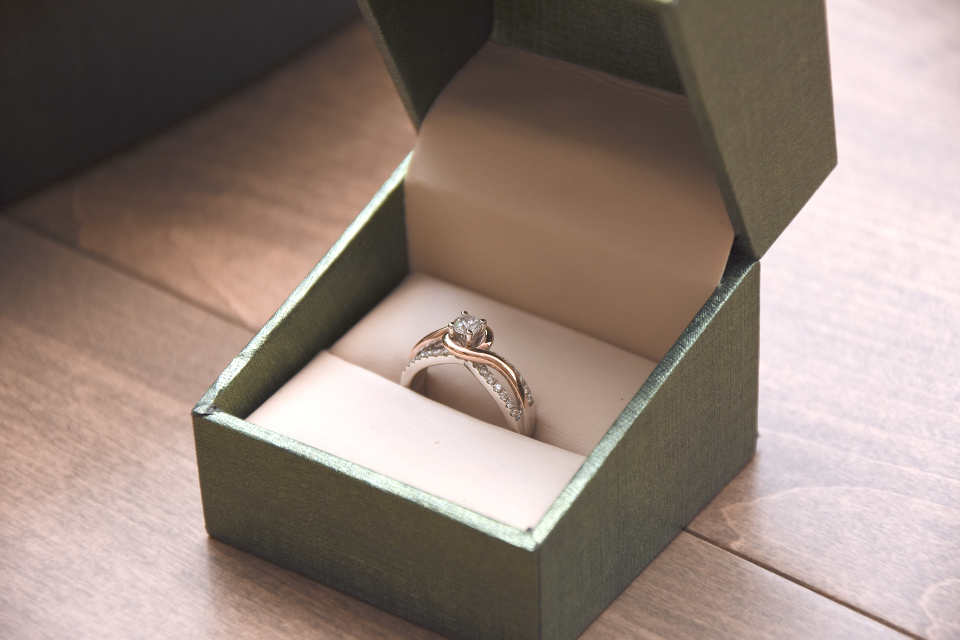 There are quite a few ways in which you can determine her ring measurements without her knowledge. It includes asking her friends, borrowing a ring from her or even checking her jewelry box to check the size of her ring.