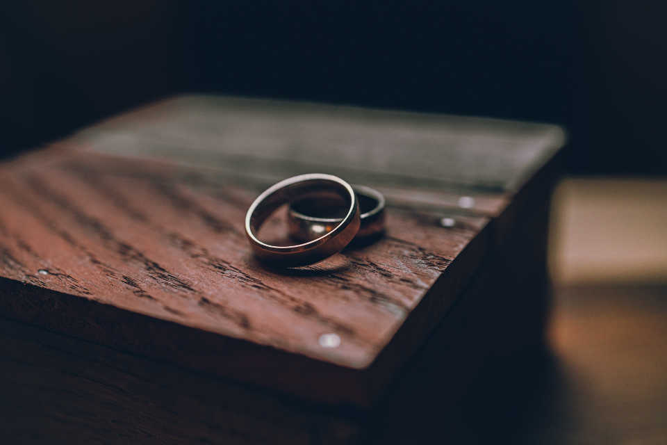 For most women, the average ring size is between size 5 and size 7