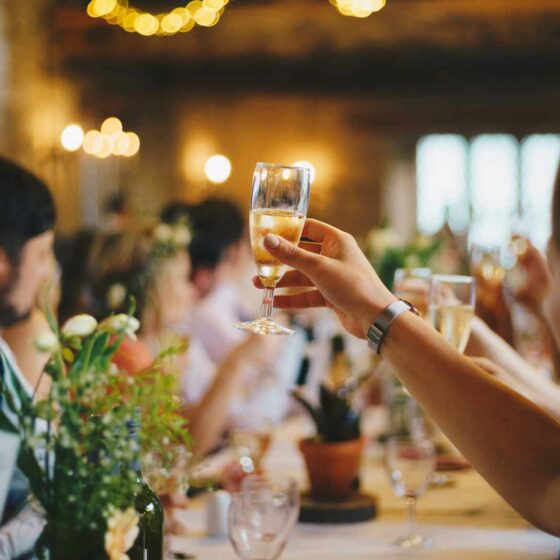 What is the Order of Events for a Wedding Reception?