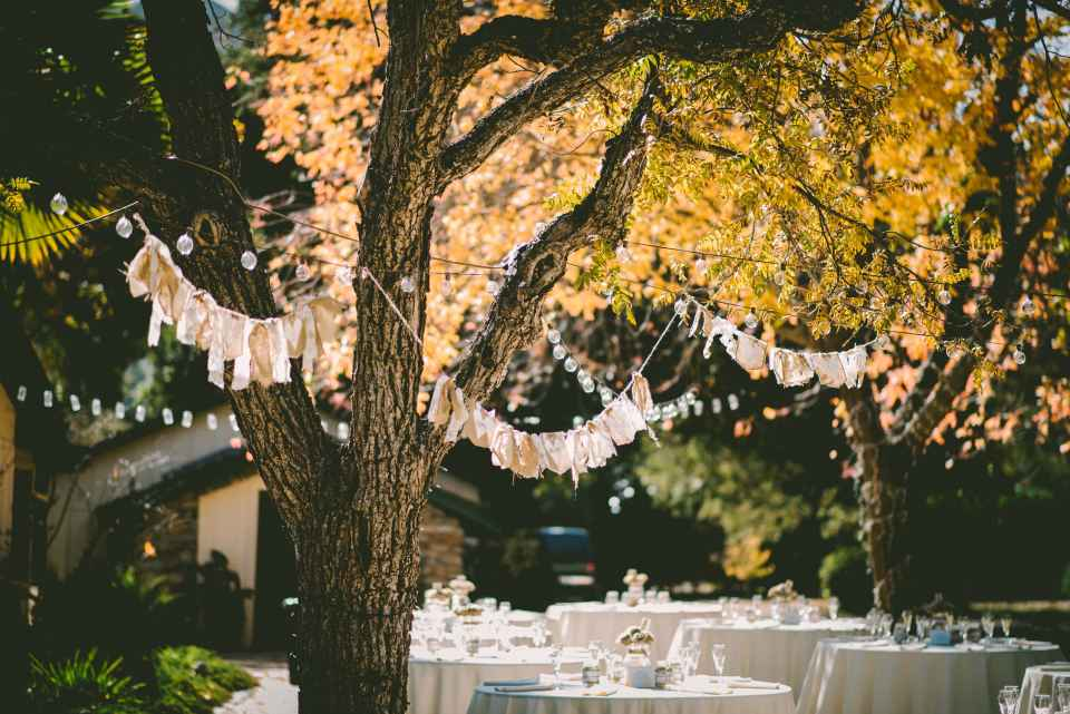A wedding reception consists of a large number of events that follow one another